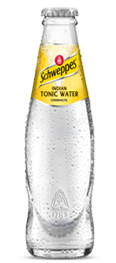 Schweppes Tonic Water Glas 0,2l
