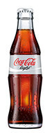 Coca Cola light 0,33l Glas